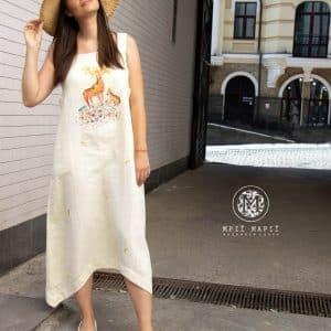 Сукня Олені, літня колекція одягу