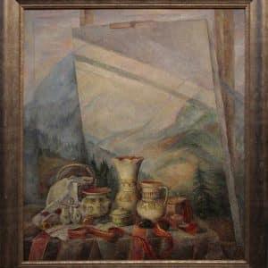 Картина Карпатський мотив, живопис, натюрморт