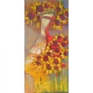Картина Букет сонця, картина в етно стилі