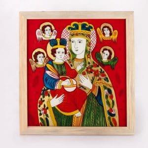 Картина Богородиця, народна ікона