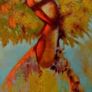 Картина Моя радість, живопис на полотні