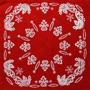 Наволочка Вибійкова, льон, декор