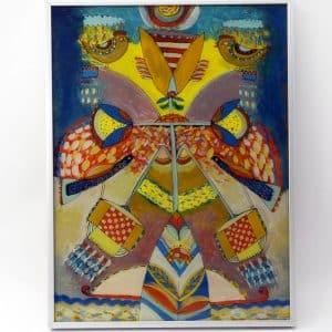"Painting ""Amulet of the genus"""