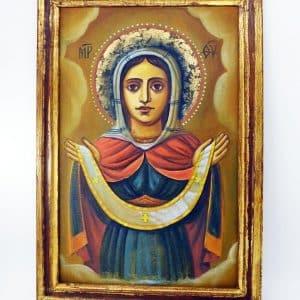 народна ікона покрова пресвятої богородиці