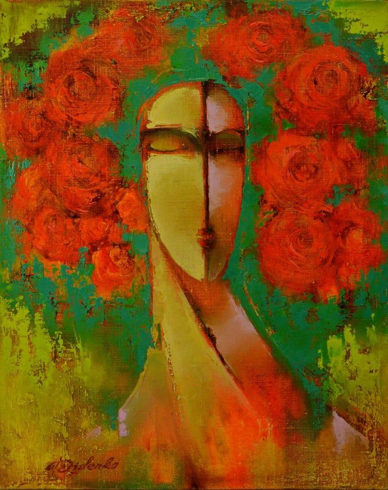 Картина Уляна, живопис на полотні
