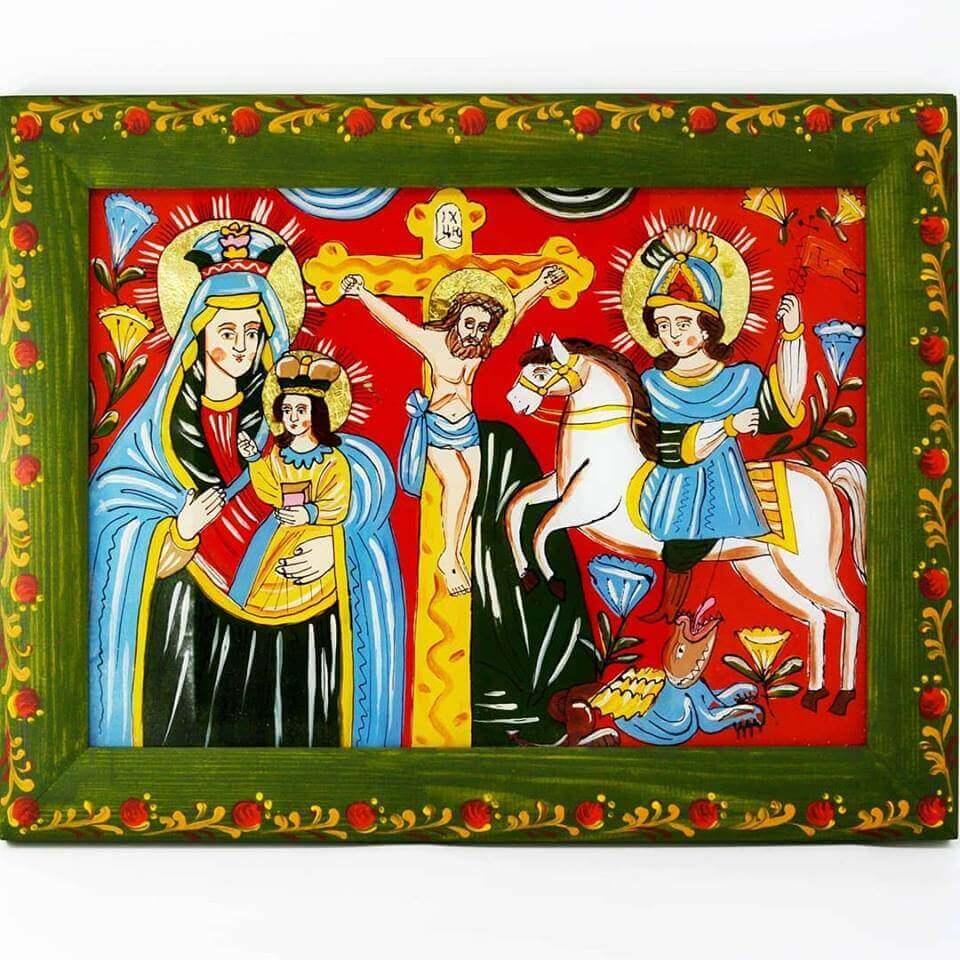 Народна ікона Романа Малка: небожителі на відстані руки