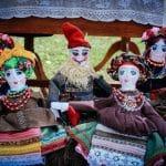 авторська лялька, текстильний ексклюзивний подарунок, козак, козачка