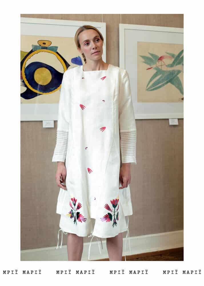 сукня авангард, капсульна колекція, курочки