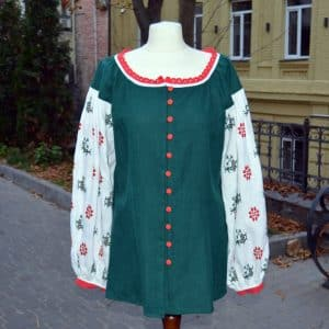 Сорочка Веснянка, ручна вишивка, хрестик