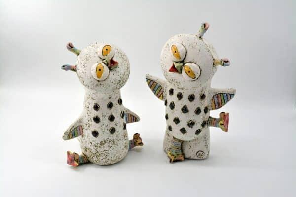Скульптура Совеня, кераміка, сова, для дитячої