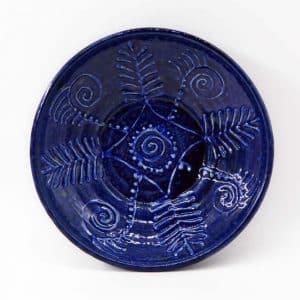 тарілка зима, керамічний посуд