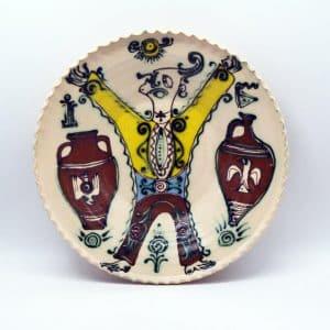 Таріль Іванко, керамічний декор