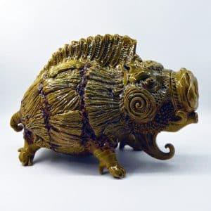 Скульптура Кабан, кераміка, гончарювання, ліплення