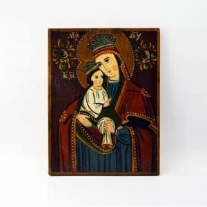 народна ікона богородиця з дитям
