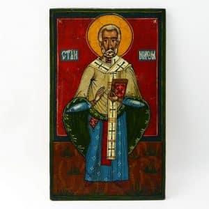 Народна ікона Миколай, святий Миколай, іменна ікона