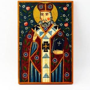 Ікона Святий Миколай, іменна ікона на дереві