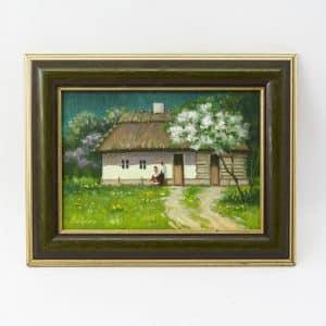 картина весняні чари, живопис, для закоханих