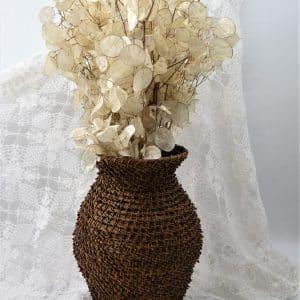 декоративна ваза, соснова голочка, для сухоцвіття