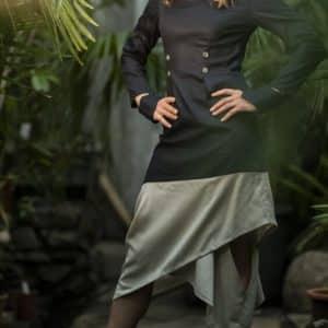 сукня геометрія, капсульна колекція, бренд одягу