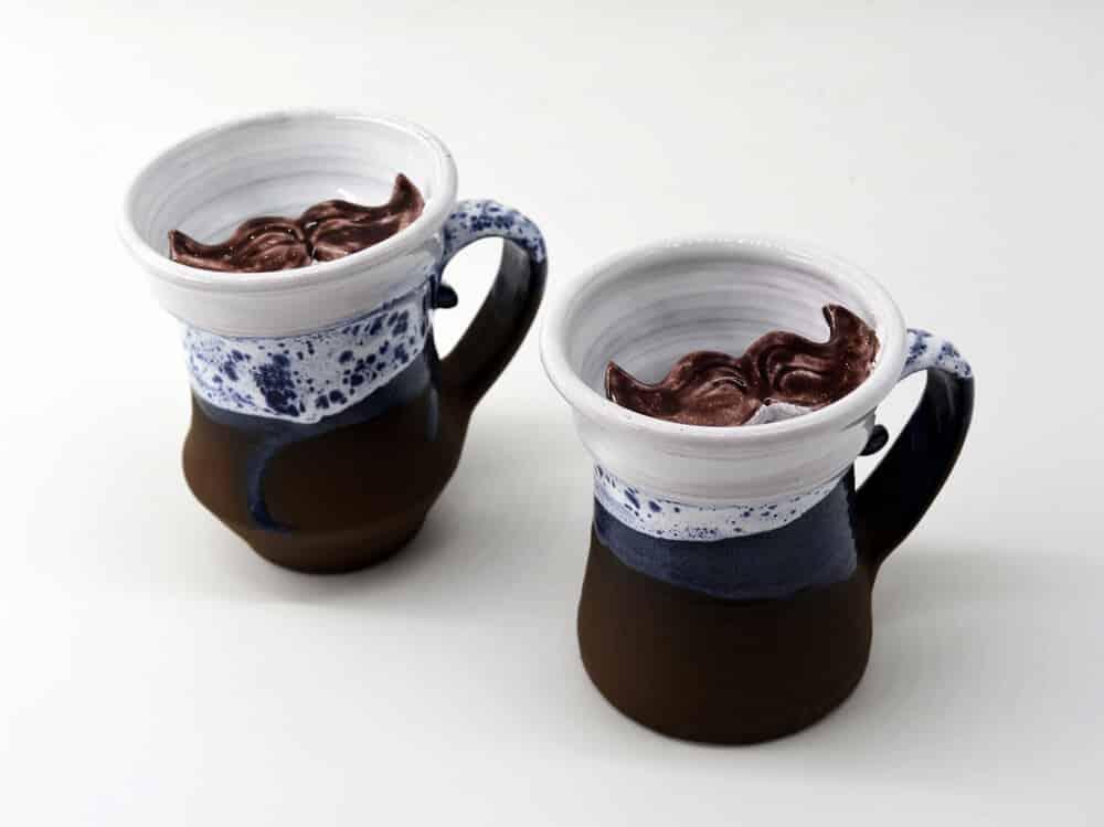 Чашка Вуса, для чоловіків, керамічний посуд