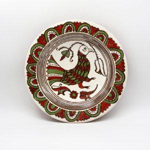 Таріль Пташка, декоративна тарілка