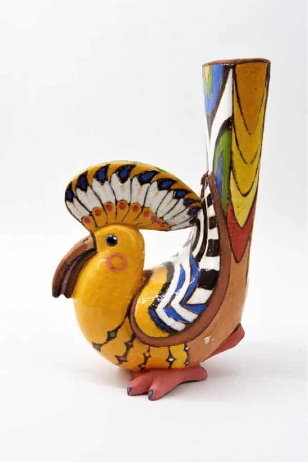 скульптура птах, керамічний декор